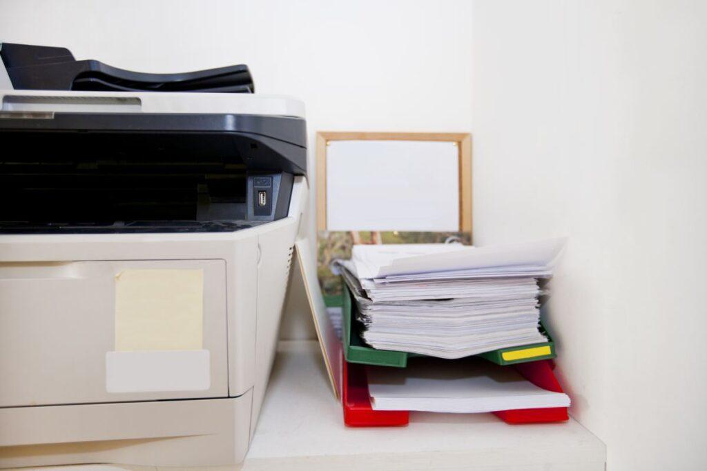 drukarka w biurze